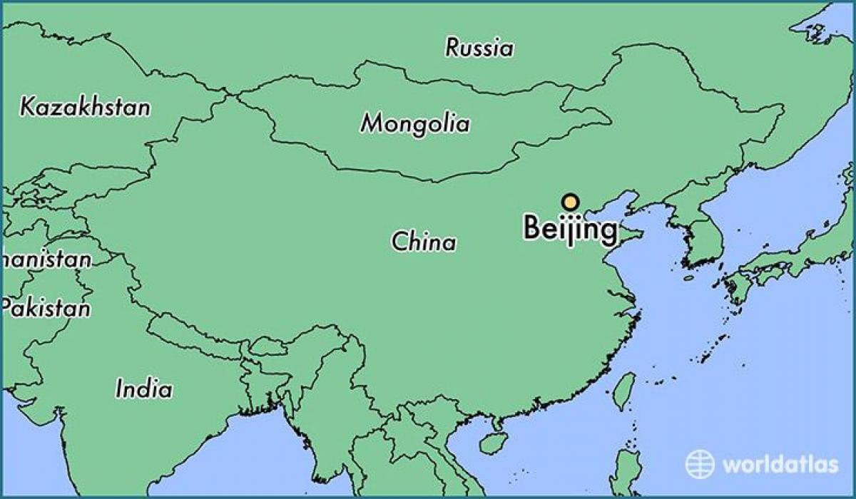 Picture of: Beijing World Map Beijing China World Map China